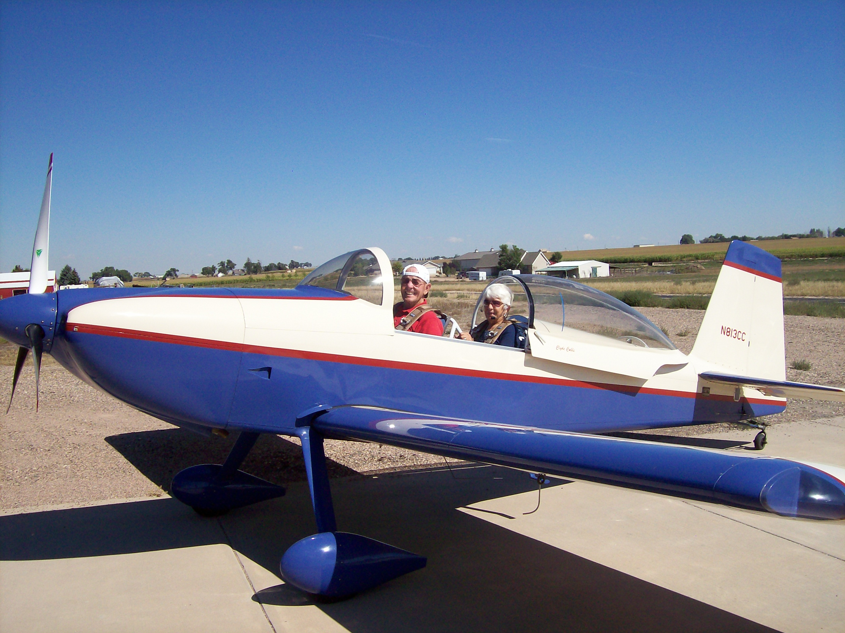 Clyde Cable RV-8